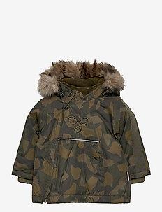 hmlJESSIE JACKET - insulated jackets - olive night/ ecru olive
