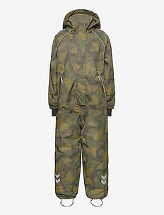 hmlARCTIC SNOWSUIT - schneeanzug - olive night/ ecru olive