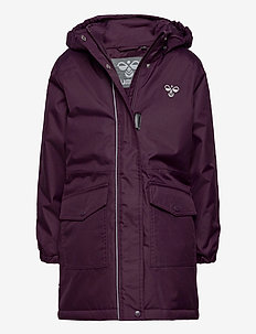 hmlJEANNE COAT - winter jacket - blackberry wine