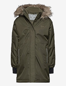 hmlLEAF COAT - schneejacke - olive night