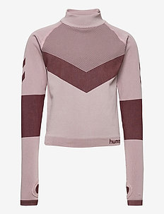 hmlKITH SEAMLESS T-SHIRT L/S - manches longues - deauville mauve