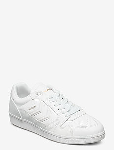 HB TEAM LEATHER - baskets basses - white
