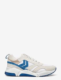 ALBERTA - laag sneakers - white/blue
