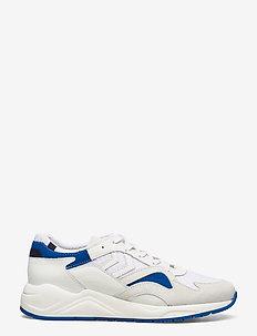 EDMONTON PREMIUM - laag sneakers - white/blue