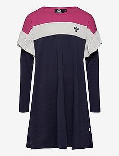 hmlANNA DRESS L/S - sportieve jurken - lilac rose