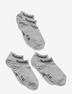 hmlTORNO 3-PACK SOCK - chaussettes - grey melange