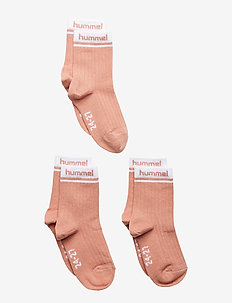 hmlCONI 3-PACK SOCK - chaussettes - rose dawn