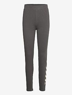 hmlCATE HIGH WAIST TIGHTS - leggings - magnet