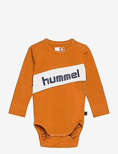 hmlCLEMENT BODY L/S - long-sleeved - pumpkin spice