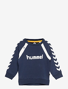 hmlALEXANDER SWEATSHIRT - sweatshirts - black iris