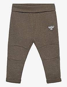 hmlMORRO PANTS - trousers - black olive