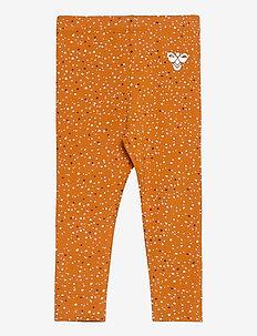 hmlDORY TIGHTS - leggings - pumpkin spice