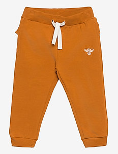 hmlBUENA PANTS - trousers - pumpkin spice