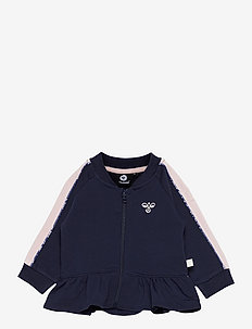 hmlLIV ZIP JACKET - sweaters - black iris