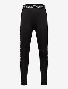 hmlNANNA TIGHTS - leggings - black