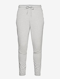 hmlISAM TAPERED PANTS - trainingsbroek - grey melange