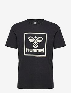 hmlISAM T-SHIRT - sportstopper - black