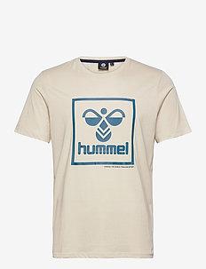 hmlISAM T-SHIRT - sportstopper - bone white