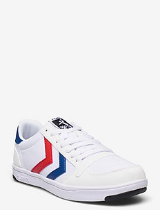 STADIL LIGHT CANVAS - lave sneakers - white/blue/red