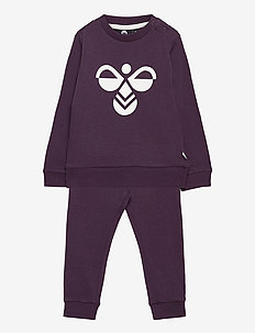 hmlARIN CREWSUIT - tracksuits - blackberry wine