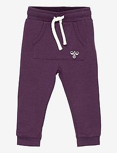 hmlFUTTE PANTS - sports pants - blackberry wine