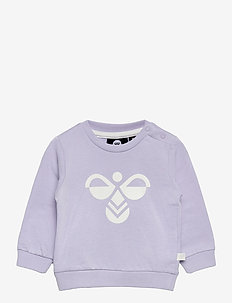 hmlLEMON SWEATSHIRT - sweatshirts - purple heather