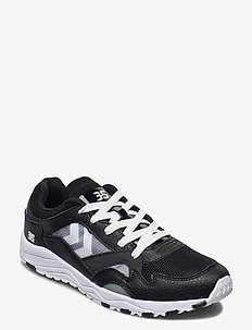 EDMONTON 3S LEATHER - låga sneakers - black