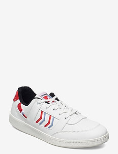 SEOUL VEGAN ARCHIVE - lave sneakers - white/fiery red