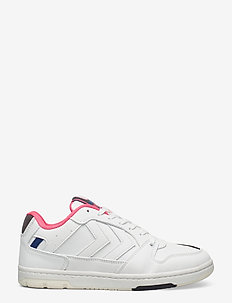 POWER PLAY VEGAN ARCHIVE - laag sneakers - white/black/pink
