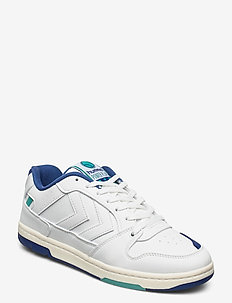 POWER PLAY VEGAN ARCHIVE - lave sneakers - white/blue/green