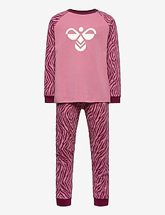 hmlAVIAJA NIGHTSUIT - zestawy - heather rose