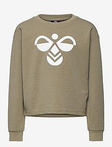 hmlCINCO SWEATSHIRT - sweatshirts - vetiver