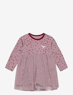 hmlBELL DRESS L/S - dresses - toadstool