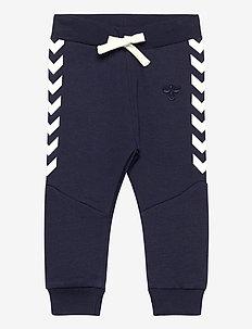 hmlNOEL PANTS - trousers - black iris