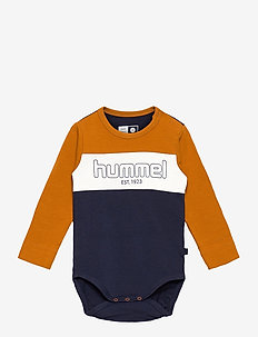 hmlNORTH BODY L/S - long-sleeved - pumpkin spice