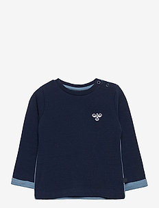 hmlWEST CREWNECK - sweat-shirt - black iris