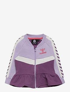 hmlVIOLA ZIP JACKET - sweaters - pastel lilac