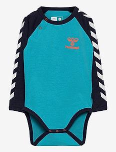 hmlVERNER BODY L/S - manches longues - scuba blue