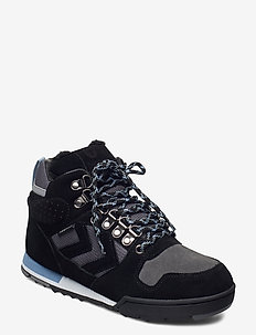 NORDIC ROOTS FOREST MID - hoog sneakers - black
