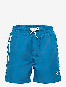 hmlDELTA BOARD SHORTS - swimshorts - mykonos blue