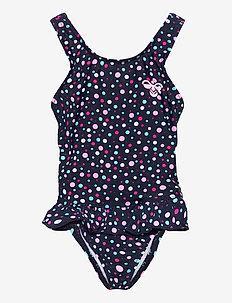 hmlFILIPPA SWIMSUIT - swimsuits - black iris/sweet lilac