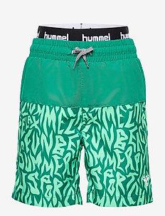 hmlGARNER BOARD SHORTS - swimshorts - ultramarine green