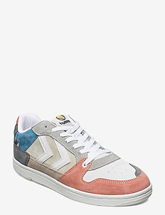 POWER PLAY MULTI COLOR - låga sneakers - bone white