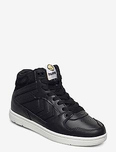POWER PLAY MID - laag sneakers - black