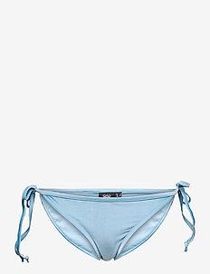 hmlSHAKI SWIM TANGA - bikini z wiązaniami po bokach - faded denim
