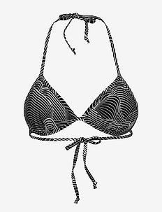 hmlOCEAN SWIM TRIANGLE TOP - bikinitopper - black/white