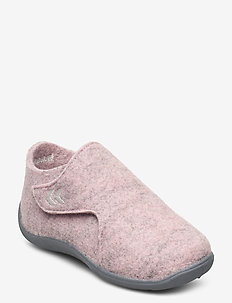 WOOL SLIPPER INFANT - hausschuhe - rose