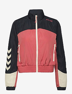 hmlDELANA LOOSE ZIP JACKET - sportjassen - blue nights