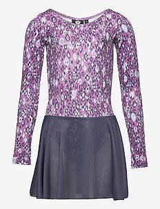 hmlFREJA GYM SUIT - dresses - chinese violet