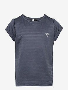 hmlSUTKIN T-SHIRT S/S - short-sleeved - ombre blue